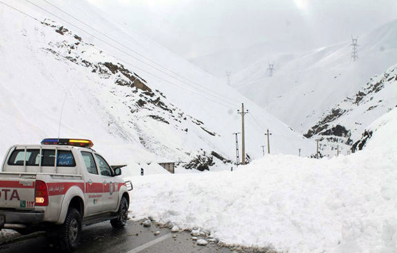 سقوط بهمن کوهنورد البرزی را مدفون کرد