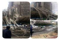 بلوار سعادت آباد بعد از یادگار امام مسدود شد