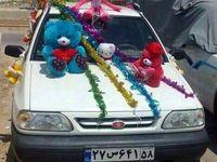 استقبال متفاوت پدر بوشهری از همسر و فرزندش +عکس