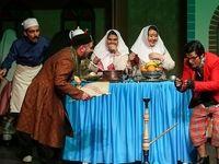 آیین افتتاحیه نمایش وقایعالتفاقیه +عکس