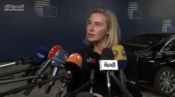 موگرینی:تمامی تحولات خاورمیانه از جمله ایران و برجام را بررسی میکنیم