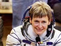 پیرترین زن فضانورد به زمین بازگشت +عکس