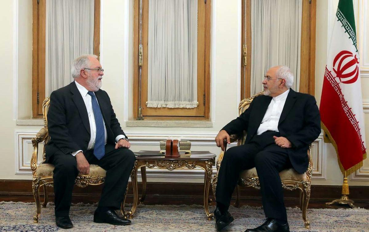 ظریف: حمایت سیاسی اروپا از برجام کافی نیست / پیام اتحادیه اروپا تداوم همکاری با ایران در حفظ و اجرای برجام است