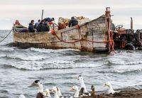 آخرین روزهای صیادی در دریای خزر +تصاویر