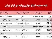 قیمت پراید در بازار تهران +جدول