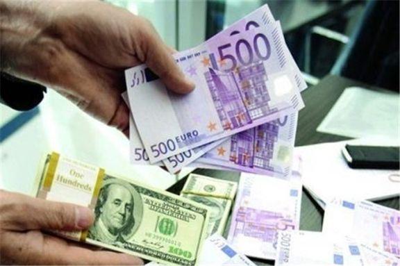 نرخ خرید و فروش دلار و یورو در صرافى ملى