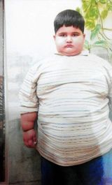 چاقترین کودک
