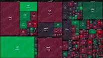 نقشه بورس امروز بر اساس ارزش معاملات/ خرید بزرگان آغاز شد؟