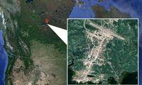 سقوط هواپیمای مسافربری با ۲۵سرنشین در کانادا