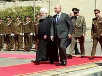 فرش قرمز عراق برای روحانی +تصاویر