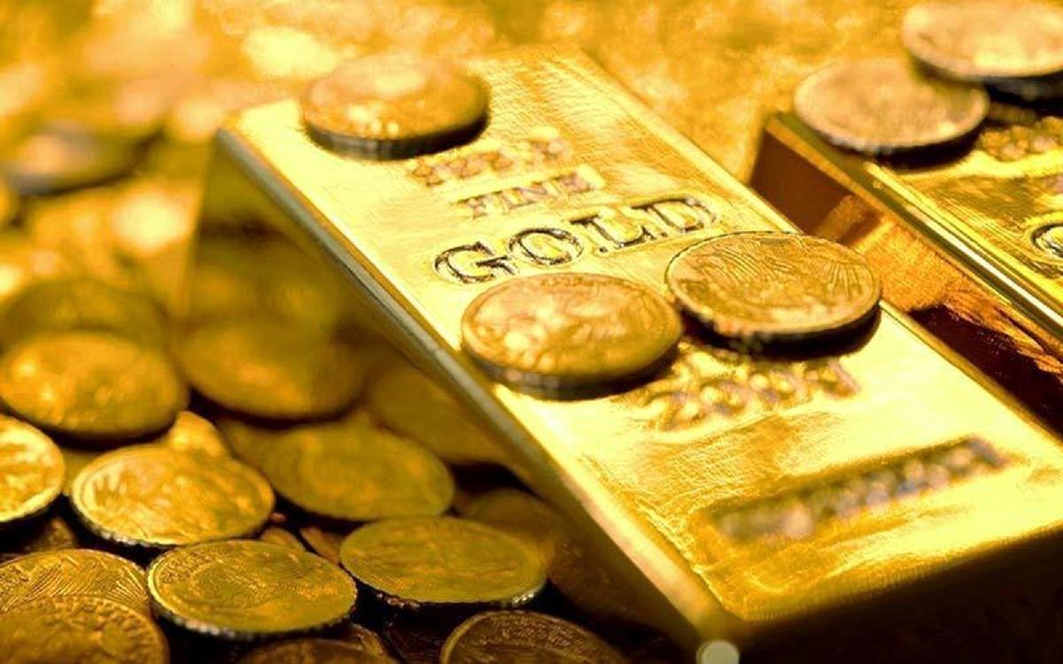 طلا نزولی شد