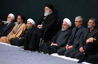 دومین شب مراسم عزاداری فاطمیه در حسینیه امام خمینی