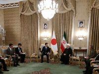 دیدار رئیسجمهوری اسلامی ایران و نخست وزیر ژاپن +فیلم