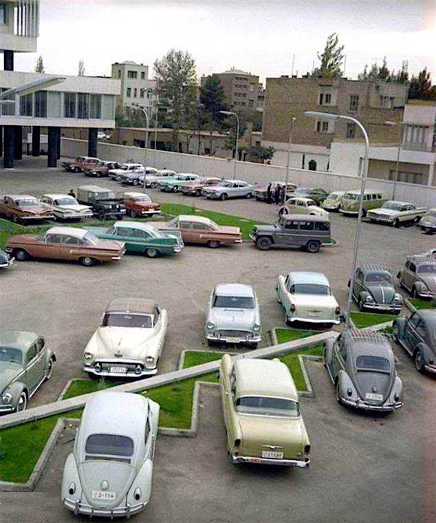 پارکینگ وزارت نفت