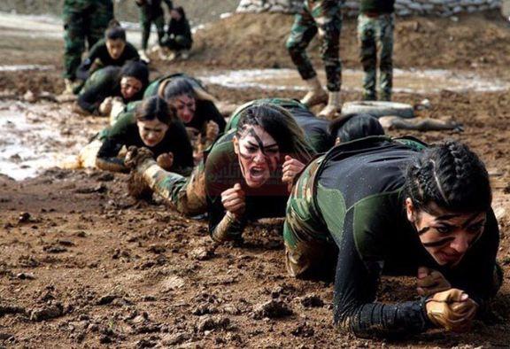 تیپ عجیب پیشمرگههای کردستان عراق +عکس