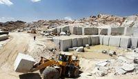صادرات بیش از ۱.۳میلیارد دلاری سنگ، گچ، شن و ماسه