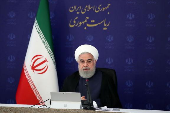روحانی: آمریکا اگر در ادعای خود صادق است، به تحریمهای ایران پایان دهد