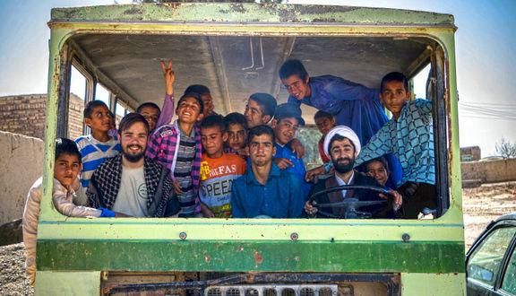 مشق جهادگری در مینیبوس