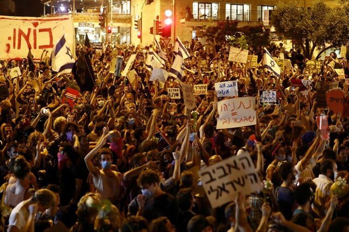 از سرگیری اعتراضات علیه نتانیاهو