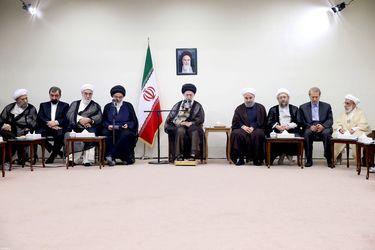 دیدار اعضای جدید مجمع تشخیص مصلحت با رهبر انقلاب