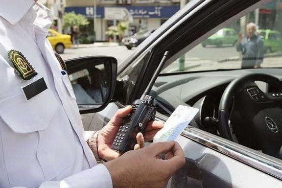 جریمه ۴۰هزار تومانی برای توقف وسایل نقلیه در پیاده رو