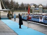 استقبال رسمی اردوغان از روحانی +عکس