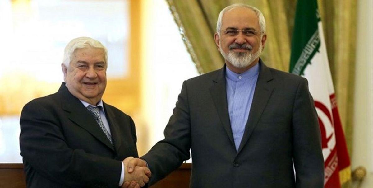 المیادین: ظریف دوشنبه در دمشق با المعلم دیدار میکند