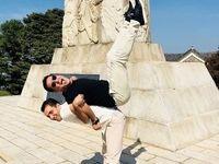 تصویری عجیب و متفاوت از داور ایرانی در سئول +عکس