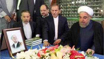 تجدید میثاق روحانی و هیأت دولت با آرمانهای امام خمینی(ره) +تصاویر