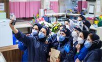 شب یلدای پرستاران در بیمارستان +عکس