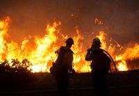 آتشسوزی مهیب در جنگلهای کالیفرنیا +عکس
