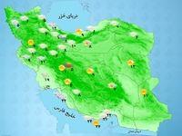 رعدوبرق و وزش شدید باد در شمال خلیج فارس