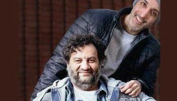 امیرمهدی ژوله و مهراب قاسمخانی ۱۲سال پیش +عکس