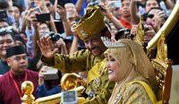 جشن سالگرد سلطنت پادشاه ثروتمند برونئی +تصاویر