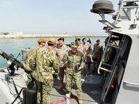 رزمایش دریایی مشترک عربستان و آمریکا در خلیج فارس