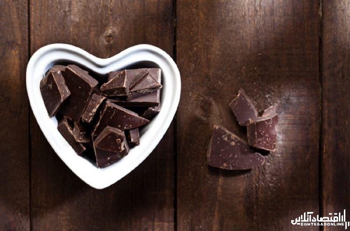 افرادی که شکلات تلخ می خورند کمتر دچار افسردگی می شوند
