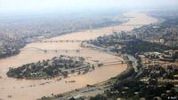 اعلام هشدار نارنجی وقوع سیلاب در خوزستان