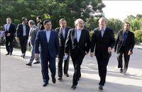 لاریجانی و ظریف با وزیر خارجه چین دیدار کردند