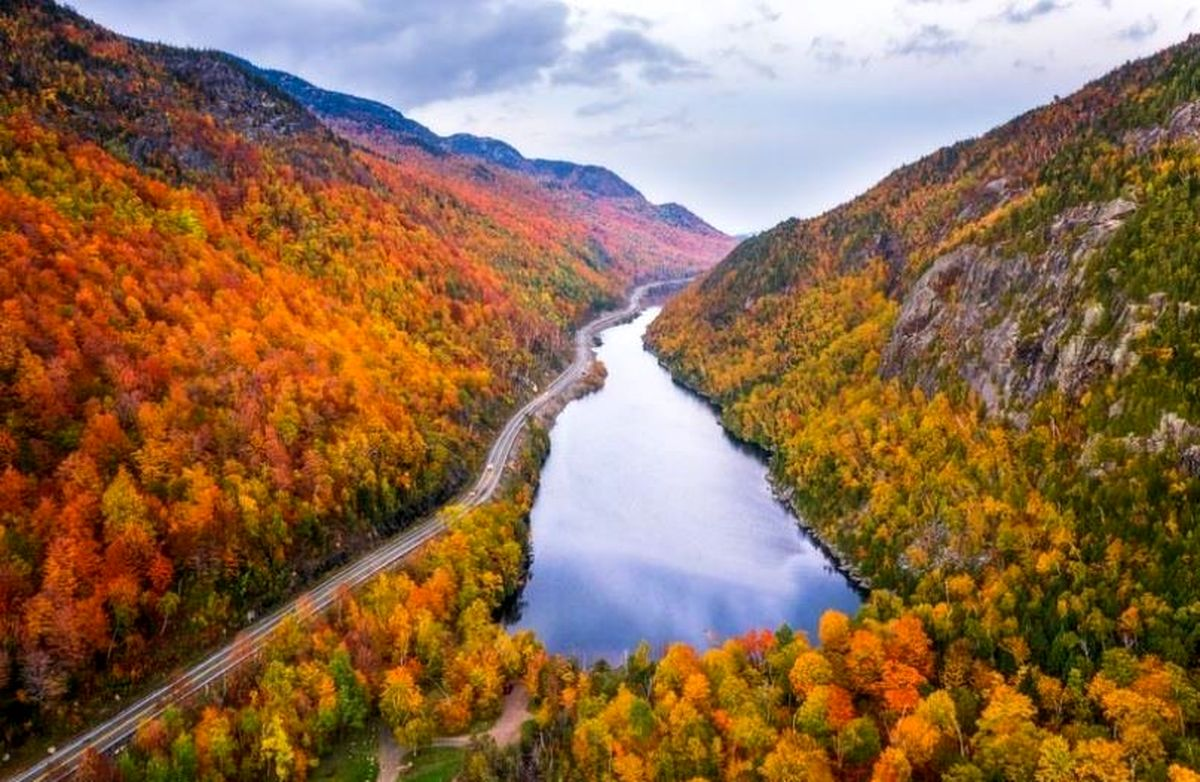 رنگهای پاییزی در عکس روز نشنال جئوگرافیک