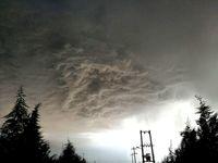 وقوع طوفان تندری در برخی مناطق طی امروز و فردا