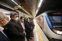 مسافرگیری در ایستگاههای جدید مترو تهران آغاز شد