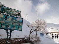 برف بازی در «سنندج» +عکس