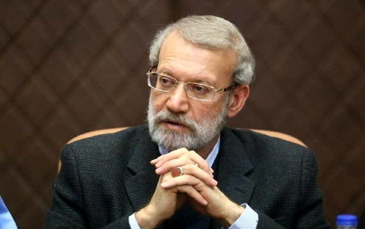 سوال سخت و معنا دار علی لاریجانی
