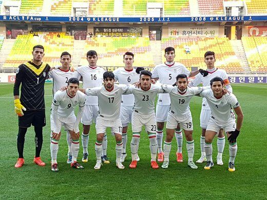 اعلام ترکیب تیم فوتبال امید مقابل قطر