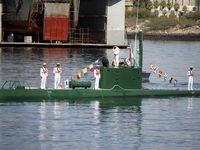 الحاق دو فروند زیردریایی کلاس غدیر +عکس
