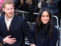 حضور شاهزاده هری و همسرش در تئاتری در لندن +فیلم
