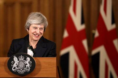 ترزا می، نخست وزیر انگلیس