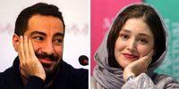 مراسم ساده عقد نوید محمدزاده و فرشته حسینی در روز عید غدیر + عکس