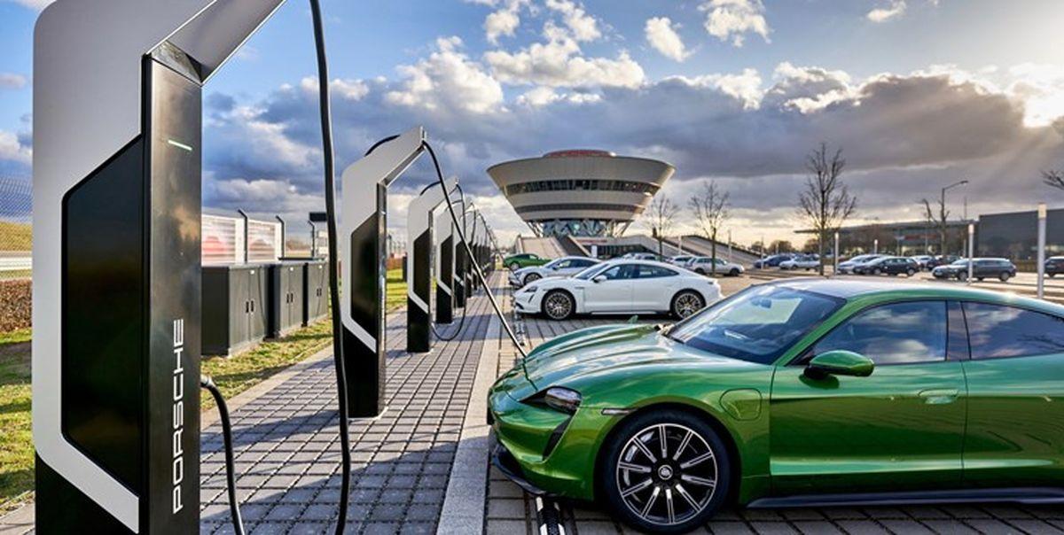 شارژ کامل خودروی برقی در ۱۰ دقیقه