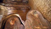 کشف دو گورستان باستانی در مصر